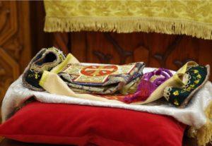 Переоблачение мощей святителя Иоанна Шанхайского