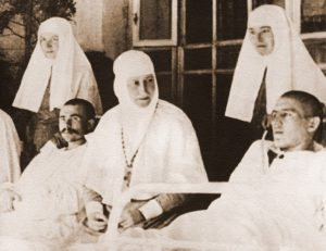 Преподобномученица Елизавета Федоровна Романова в госпитале