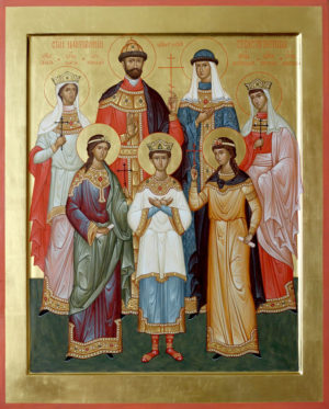 Cвятии Царственнии Страстотерпцы