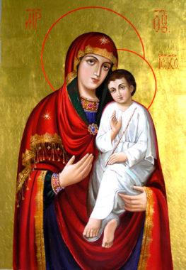 Икона Богородицы Святогорская