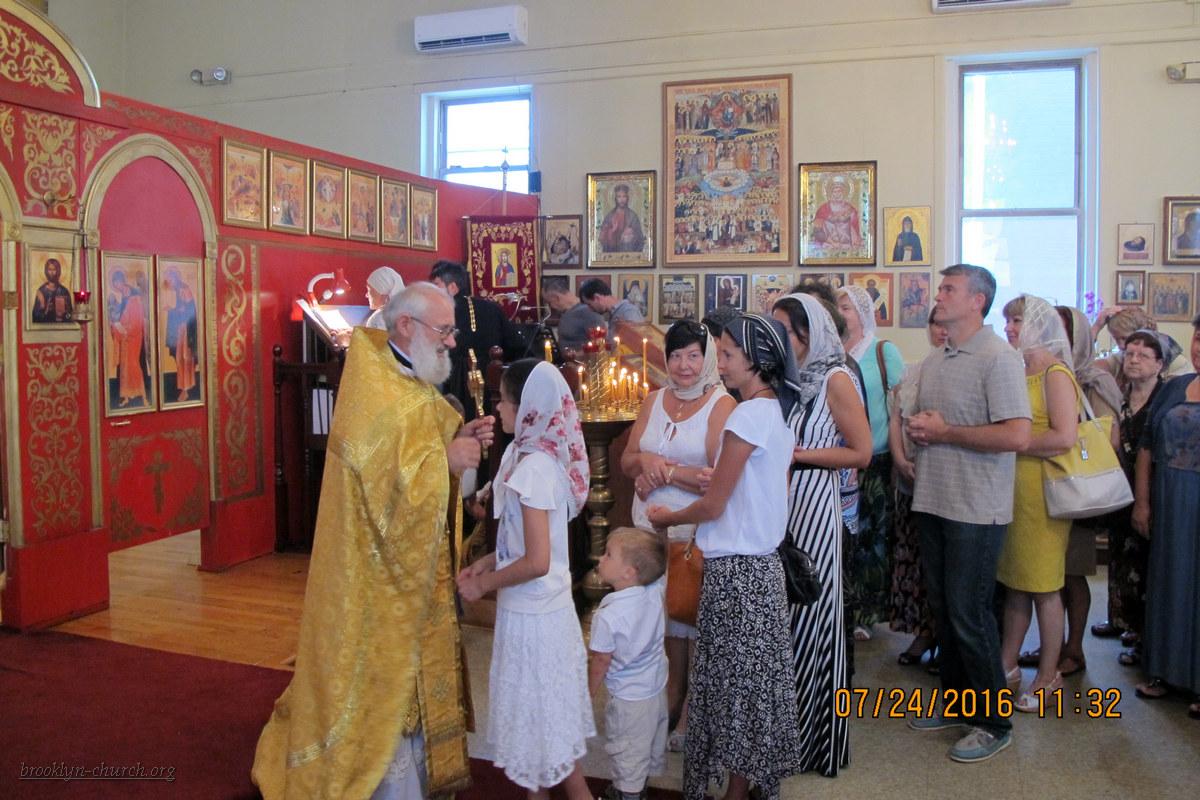 Святой равноап. великой княгини Ольги, 24.07.2016