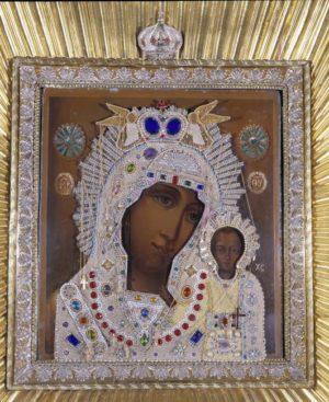 Самая древняя святыня Князь-Владимирского собора – чудотворная Казанская икона Божией Матери