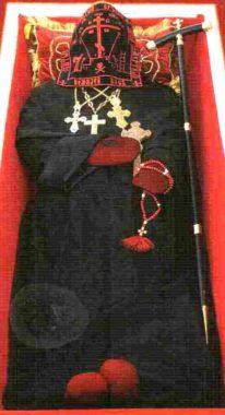 Господь одел Свою избранницу в облачение именно Флоровских сестер, послуживших в далеком прошлом предначальниками Чигиринской женской обители