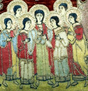 Святые мученики Маккавеи