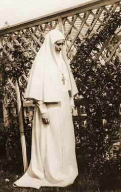 Настоятельница Марфо-Мариинской Обители милосердия 1910 г.