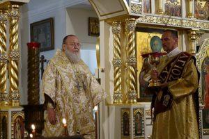 митрополит Восточно-Американский и Нью-Йоркский Иларион возглавил Всенощное бдение и Божественную литургию