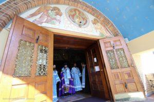 В День труда духовенство и верующие приняли участие в ежегодном паломничестве в Св. Троицкий монастырь