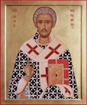 Святитель Лазарь Четверодневный, Китийский, друг Божий, епископ