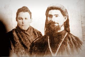 Священномученик протоиерей Николай Искровский с супругой Анной