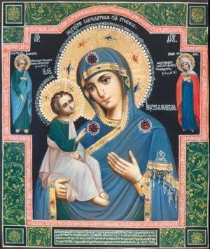 Иерусалимская икона Пресвятой Богродицы