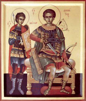 Мученики Нестор и Димитрий Солунские (Фессалоникийские)
