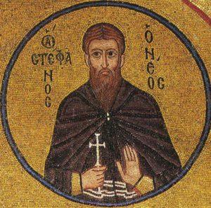 Преподобномученик и исповедник Стефан Новый, Константинопольский