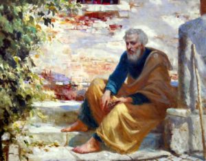 Святой всехвальный апостол Пётр - один из двенадцати апостолов Иисуса Христа