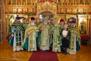 Howell, NJ: On Feast Day of Venerable Seraphim of Sarov, Metropolitan Hilarion celebrates Liturgy in St. Alexander Nevsky Diocesan Cathedral