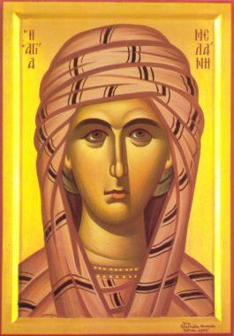 Преподобная Мелания Римляныня, Вифлеемская, Палестинская