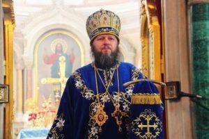 Ректор Сумской духовной семинарии архиепископ Сумской и Ахтырский Евлогий