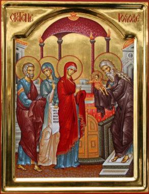 Сретение Господне - праздник встречи Бога с человеком