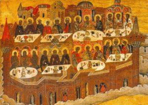 Небесная трапеза праведников