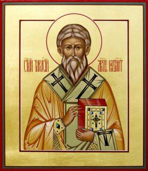 Святитель Тарасий Константинопольский, архиепископ