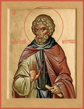 Преподобный Моисей Мурин, Эфиопский, иеромонах. Память - 10 сентября