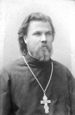 Священник Аркадий Добронравов