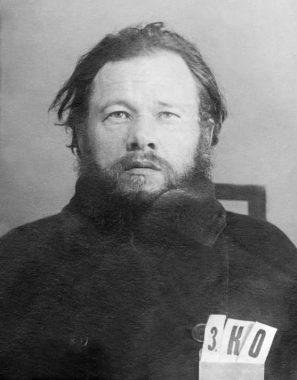 Послушник Сергий (Крестников). Москва, Бутырская тюрьма. 1935 г.