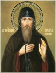 Преподобный Захария Печерский, постник