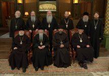 Участники переговоров о воссоединении РПЦ и РПЦЗ Участники переговоров о воссоединении РПЦ и РПЦЗ