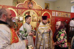 Праздник жен-мироносиц. Храм Святых Новомучеников и Исповедников Российских в Бруклине