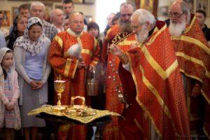 Освящение нового Евхаристического набора