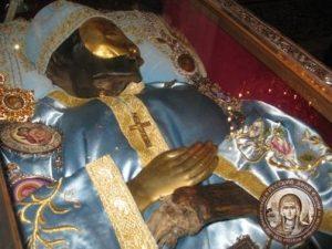 Мощи святого Иоанна Русского