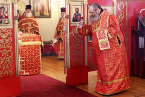 Божественная литургия в день памяти свт. Иоанна Шанхайского