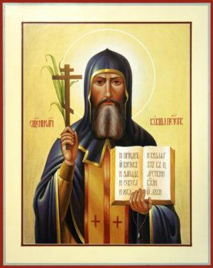 Преподобный Кукша Печерский, иеромонах