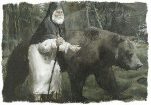 Святой преподобный Серафим Саровский, чудотворец