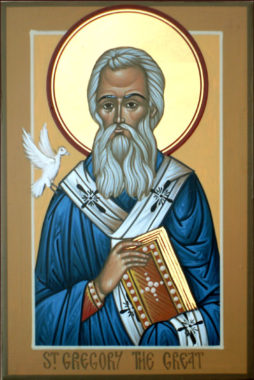 Святитель Григо́рий Двоеслов, Великий, папа Римский