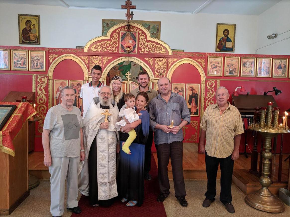 Поздравляем с Таинством Крещения и Миропомазания р.Б. Николая Думана!
