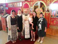 Таинство Крещения и Миропомазания принял Николай Котляр