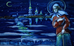 Блаженная Ксения Петербургская, Христа ради юродивая