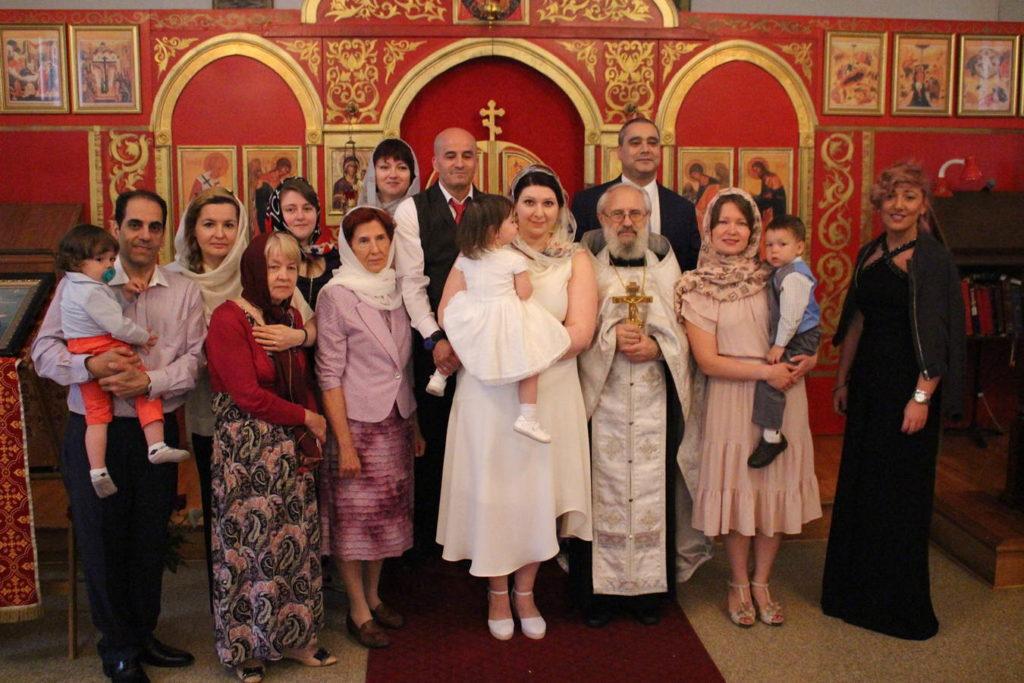 Таинство Крещения р.Б. Екатерины Вербицкой