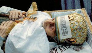 Старец Николай на смертном одре