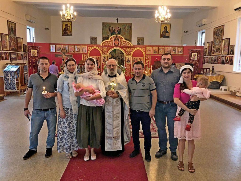 Таинство Крещения приняла Аня Митрохина