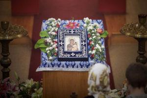 Гавайско-Иверская икона Божией Матери посетила наш храм 22 сентября