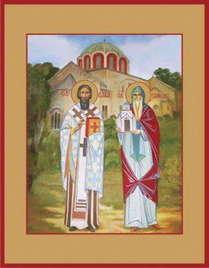 Преподобный Симео́н Мироточивый (в миру Стефа́н Неманя), Хилендарский (Афонский)