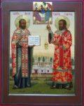 Священник Алексий Никитский и диакон Симеон Кулямин