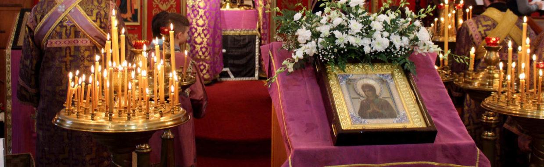 Икона Божией Матери «Умягчение злых сердец» посетила наш храм, 24 марта 2019 г.