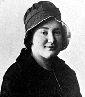 Мать Мария (Скобцова) в молодости