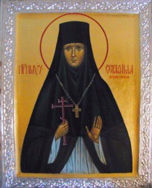 Преподобномученица Серафи́ма (Сулимова), Ферапонтовская и Леушинская, игумения