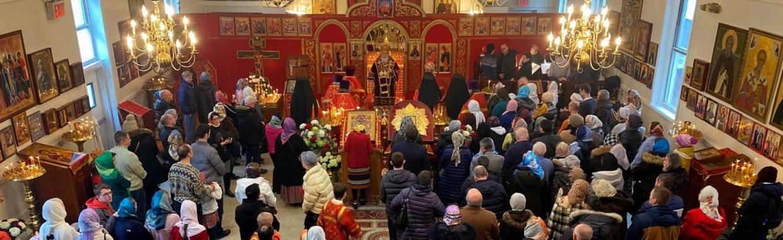 Престольный праздник храма Новомучеников Российских, 02/09/2020 (69 photos)