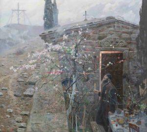 """Павел Викторович Рыженко, """"Пасха"""" (1970)"""