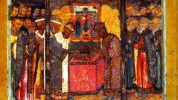 Положение честной Ризы Господа нашего Иисуса Христа в Москве, 1625 г.